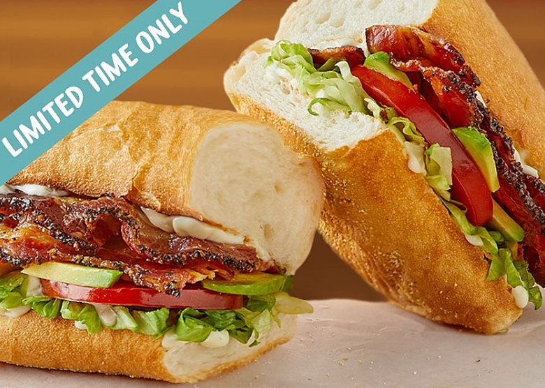 Try the Ultimate BLT Sandwich!